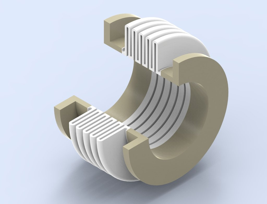 Zweikomponenten-Faltenbalg