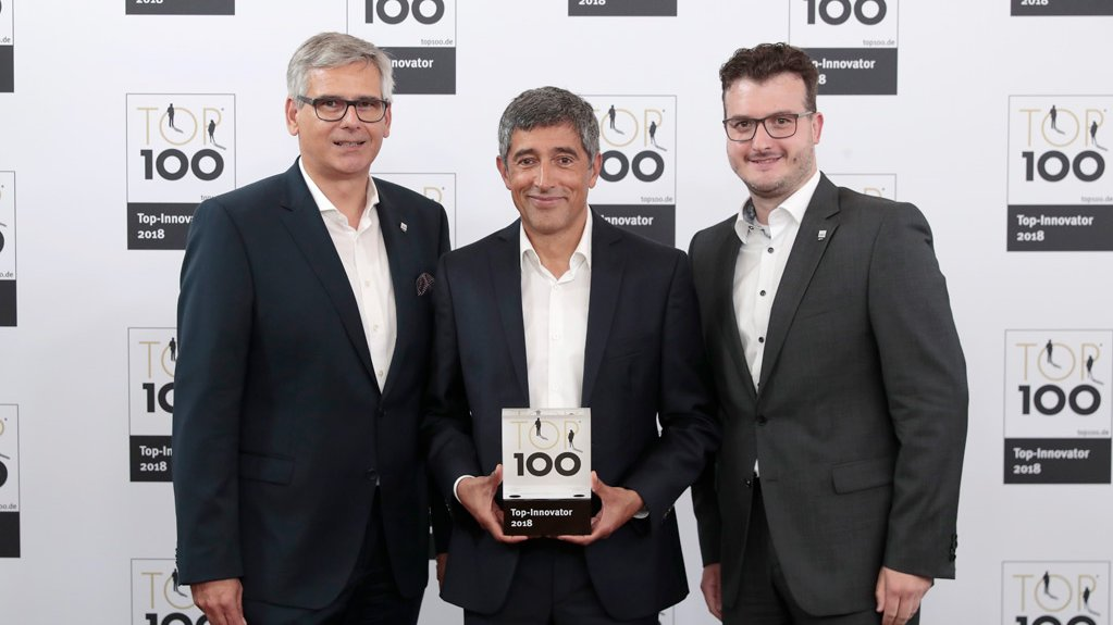 Preisverleihung Top 100 Award
